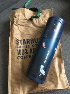 2017 Starbucks Korea Autumn Woodland Troy Tumbler