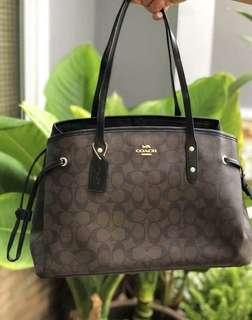 Coach drawstring Bag