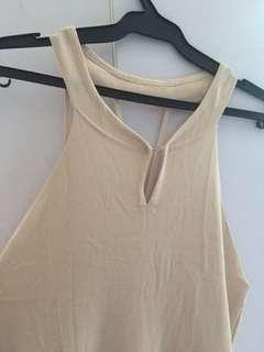 Nude Beige Dress
