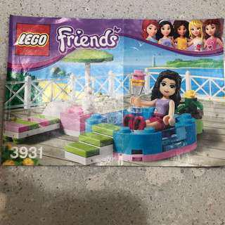 Preloved LEGO friends - pool