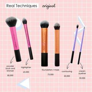 Brush Makeup Real Techniques
