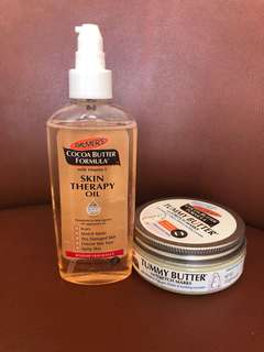 Palmers Skin Therapy Oil and Tummy Butter bundle
