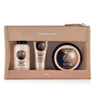 The Body Shop Shea Beauty Bag