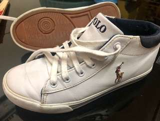 RL polo mid cut shoes