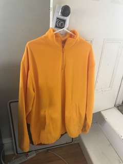 Yellow pull over