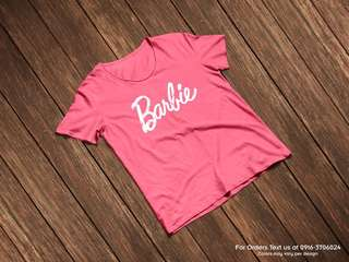 Barbie Shirt (Pink Only)