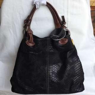 Stella Dutti Black Handbag
