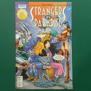 Strangers In Paradise No.1 comic