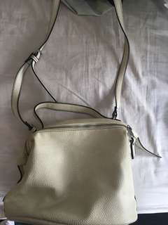 MONSAC White Leather Bag