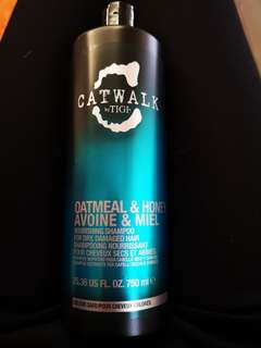 Catwalk by Tigi oatmeal & honey shampoo