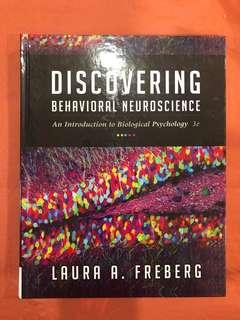 Discovering Behavioural Neuroscience by Laura Freberg