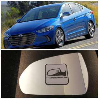 Hyundai Ioniq Elantra Sport 2018 side mirror all models and series