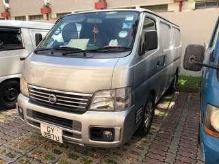 Nissan Urvan for rent