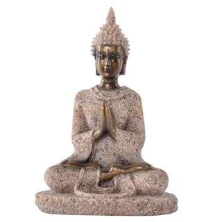 Buddha Guan Yin Mediatating Statute Sculpture