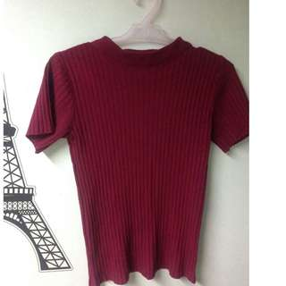 Closed Neck knitted top