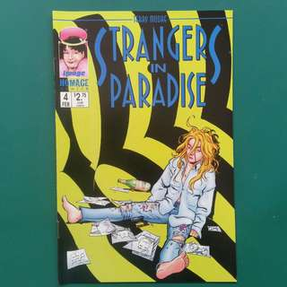 Strangers In Paradise No.4 comic