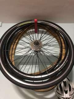 Brandless wheelset