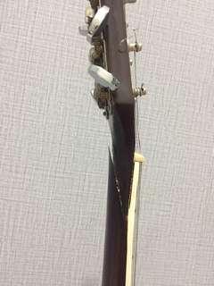 Gitar Aristone Rusak di Leher Akustik Elektrik COD only
