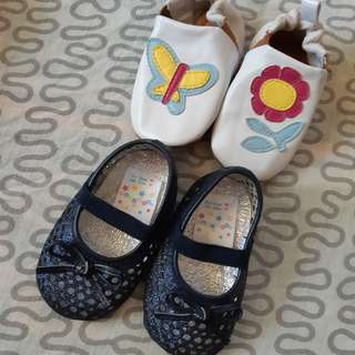 Doll shoes for 3-6mos
