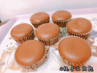 [Q純手工餅乾]巧克力杯子蛋糕
