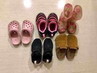 Nike毛毛蟲鞋(5雙鞋款合售)