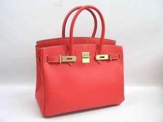 Hermes Birkin 35 Epsom leather Rose Jaipur