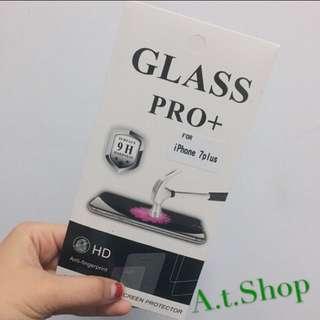 🚚 ✨iphone7plus[9H半版鋼化玻璃貼] 現貨 保護貼 鋼化膜 HD  超輕薄 iPhone apple