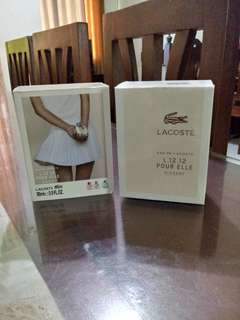 Authentic lacoste perfume for women