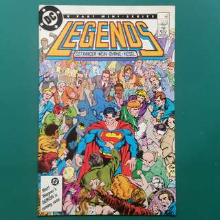 Legends No.2 comic