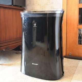 二手空氣清淨機SHARP 12坪 蚊取自動除菌離子空氣清淨機 FU-GM50T-B