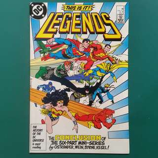 Legends No.6 comic