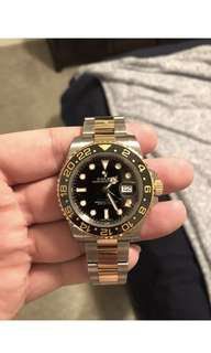 Rolex GMT Master ii two tone