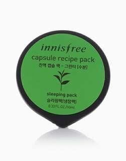 INNISFREE Green Tea Capsule Recipe Pack