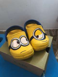 Authentic Minion Crocs Glow in the dark
