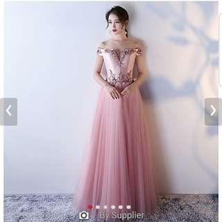 Blush pink formal dress size 10