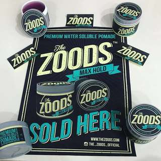 🚚 The Zoods Waterbased Pomade Ver 2.0