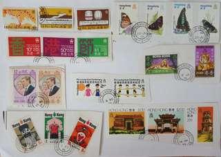 已蓋銷本地舊郵票