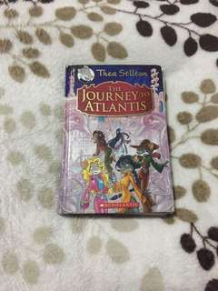 Thea Stilton (hardbound) the Journey to Atlantis book