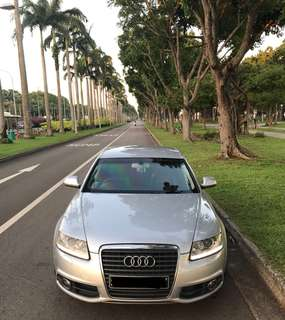 Audi A6 for Rental (promotion)