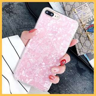 Pink Marble Like iPhone 7 Plus / 8 Plus Phone Case