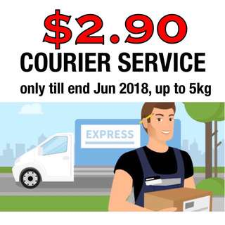 ENDING! $2.90 COURIER DELIVERY PROMO