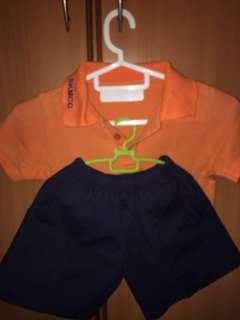 SKMCC Kindergarten PE uniform - 4 to 6 yrs old