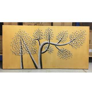 Painting - Trees Of Prosperity B (Long) Clearance Stock