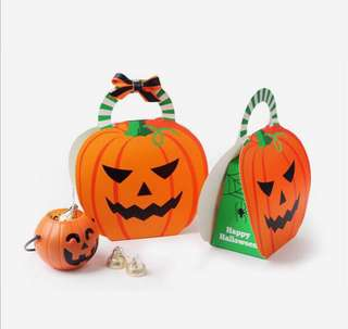 Halloween Christmas party small boxes