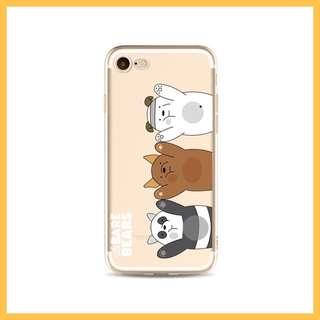 We Bare Bear iPhone 7 Plus / 8 Plus Phone Case
