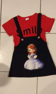 Baby Dress  Set (Frozen)
