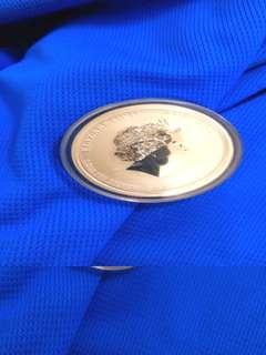 Australia Year of Dragan silver coin 1/2 ounce