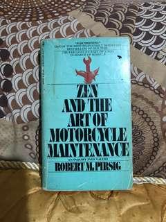 Zen and the Art of Motorcycle Maintenance (Robert Pirsig)