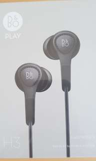 (BNIB) Beoplay H3 2nd Gen (Black) Only For Apple