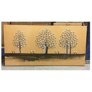 Painting - Trees Of Prosperity (Long & Small size) Clearance stock